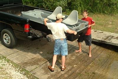 11077 Sun Dolphin Sportsman Fishing Boat (Gray/Black, 8.6-Feet) by KL Industries