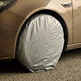 honda 2000 crv tire cover - beler 4pcs Car Auto Wheel Tire Tyre Protector Cover Waterproof Weatherproof Dust Proof