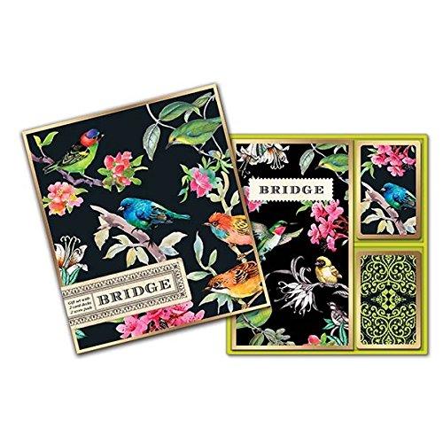 Michel Design Works Bridge Card Gift Set, Bird Song