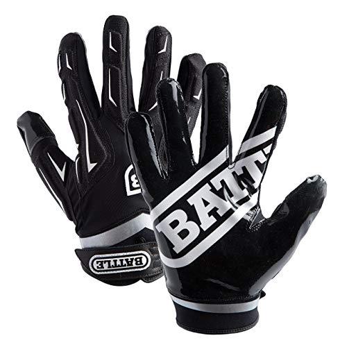 Battle Youth Hybrid Gloves, Black, X-Large 9370YXL