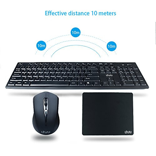 Wireless-Keyboard-and-Mouse-with-mouse-pad-UHURU-24Ghz-Whisper-quiet-Wireless-Keyboard-and-Ergonomic-Mouse-Matching-Mouse-Pad-for-Windows-PC-Laptop-Notebook-Smart-TV