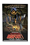 Destination Bigfoot - B Movie (8x12 Acrylic Photo Block Gallery Quality)