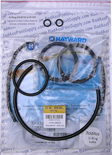 Pump Union O-ring - Hayward EcoStarVS, TriStar, Waterfall, TriStarVS Pump O-Ring Rebuild Kit with Union Gaskets