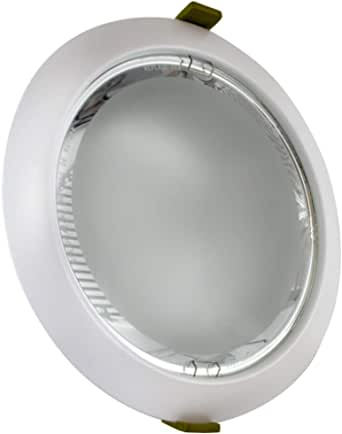 InterLight Close to Ceiling Lights 2x26 Round WhiteR1526 Whole with bulb White Remaluz Spanish