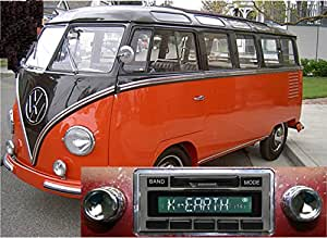 1949-1967 Volkswagen Bus USA-630 II High Power 300 watt AM FM Car Stereo/Radio with iPod Docking Cable