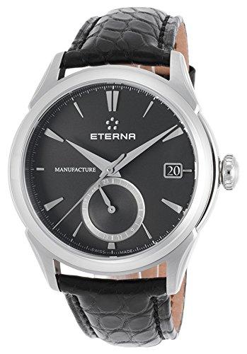 Eterna Reloj los Hombres 1948 Legacy GMT Manufacture Automática 11-7680-41-41-1175: Amazon.es: Relojes