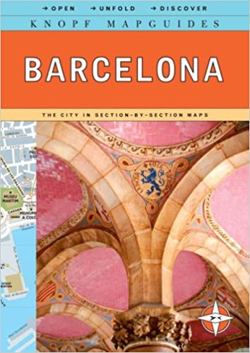 Knopf MapGuide Barcelona Knopf Mapguides Knopf Guides - Barcelona map guide
