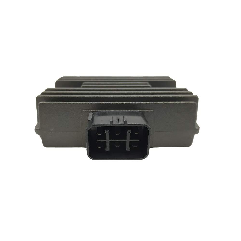 Triumilynn Voltage Regulator Rectifier Fits for Arctic CAT 700 EFI CAN-AM Outlander 330 400 Honda TRX 400 450 500 Suzuki LT-A 400 450 500 700 750 Yamaha R6 YFM660 YFM700 YXR660 XP500 XVS1100 Triumilynn Parts