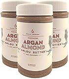Villa Jerada, Premium Argan Almond Amlou Butter, 12 oz (Pack of 3)