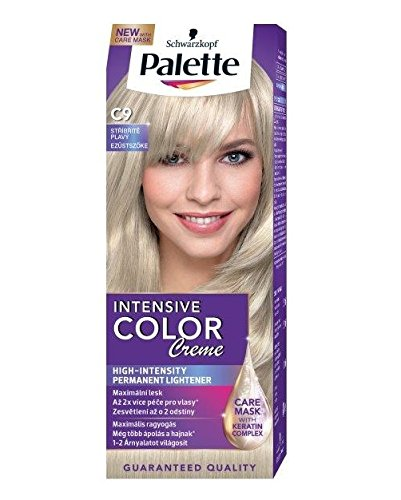 Schwarzkopf Palette Intensive Color Creme C9 Platinum Silver Permanent Hair (Hair Color Palette)