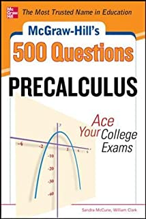 Amazon mcgraw hills 500 college calculus questions to know by mcgraw hills 500 college precalculus questions ace your college exams 3 reading tests fandeluxe Choice Image