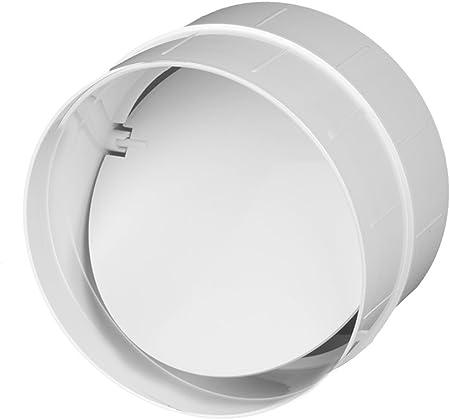 Conector Válvula antirretorno ventilación Tubo ABS Tubo Redondo De Diámetro 150 Canalizado Awenta para tubo de 150 mm, PVC: Amazon.es: Hogar