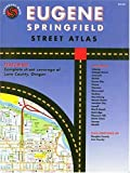 img - for Eugene Springfield, Oregon: Street Atlas by Sagebrush Maps, Rand McNally(August 1, 2005) Spiral-bound book / textbook / text book