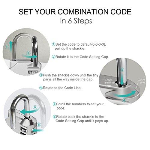 ORIA Combination Lock