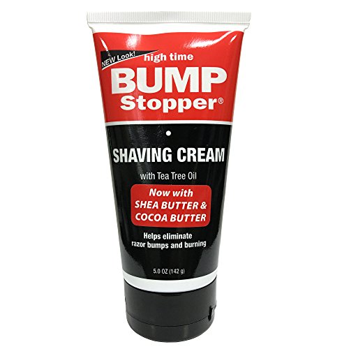 Bump Stopper Medicated Shaving Cream 5.3 oz. (Pack of (High Time Bump Stop)