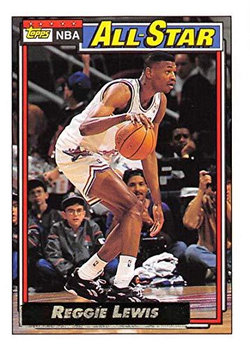 1992-93 Topps Gold Basketball #104 Reggie Lewis Boston Celtics AS Official NBA Trading Card