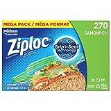 Ziploc Sandwich Bags Mega Pack, 270 Bags