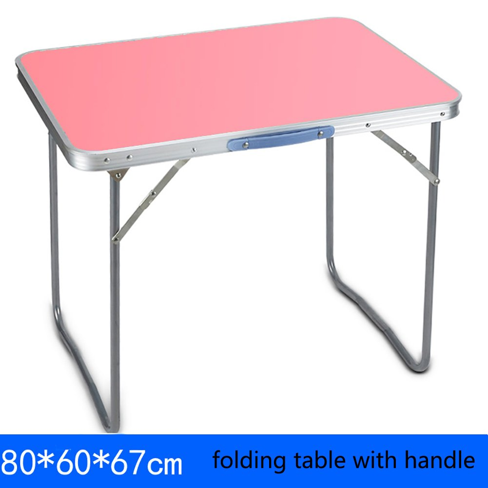 3dde7bff021a Amazon.com: TY BEI Table Outdoor Square Folding Table and Chairs ...