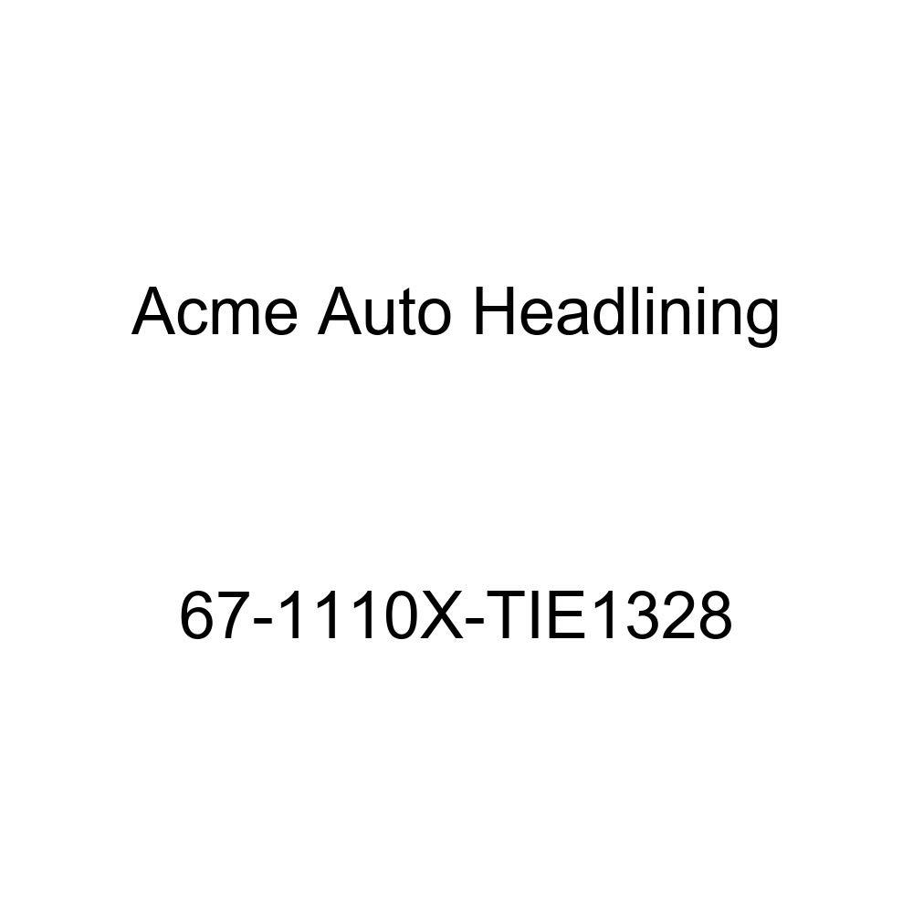Buick Wildcat 2 Dr Hardtop w//Original Board Headliner Acme Auto Headlining 67-1110X-TIE1328 Red Replacement Headliner Conversion