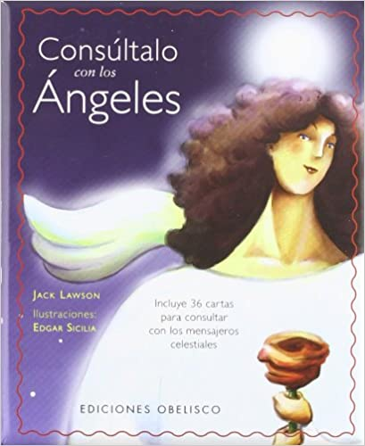 Consultalo Con Angeles [With Cards] (Coleccion Angelologia)