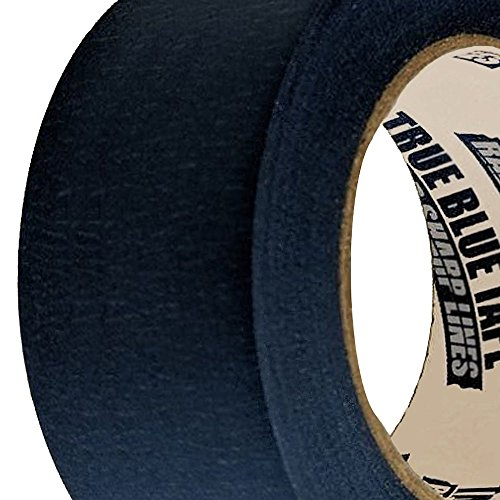 True Blue Premium Blue Professional Painter's Masking Tape – Indoor and Outdoor Use – Commercial Grade - Available in 2 Widths – Works on a Variety of Surfaces (2 Inch, 4-Pack) by True Blue (Image #7)
