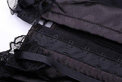 E-SHINE CO Womens Gothic Fashion Boned Corset Top