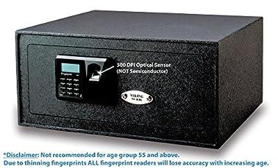 Viking Security Safe VS-35BLX Biometric Safe Fingerprint Safe