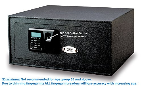 Viking Security Safe VS-35BLX Biometric Safe Fingerprint Safe by Viking Security Safe