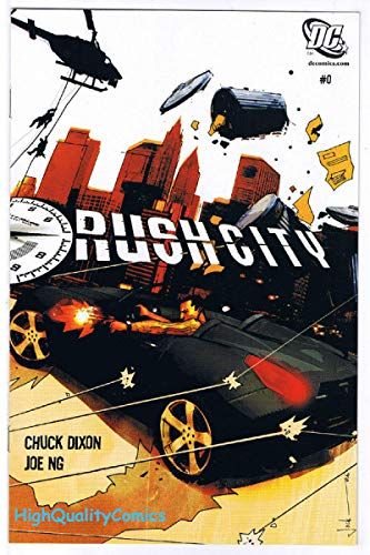 (RUSH CITY #0, Preview, Promo, Chuck Dixon, 2006, VF/NM, more items in r store)