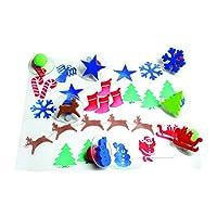 Centro Enterprise CE6725 Sellos gigantes navideños READY2LEARN (paquete de 10)