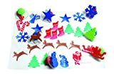 Center Enterprise CE6725 READY2LEARN Giant Christmas Stamps (Pack of 10)