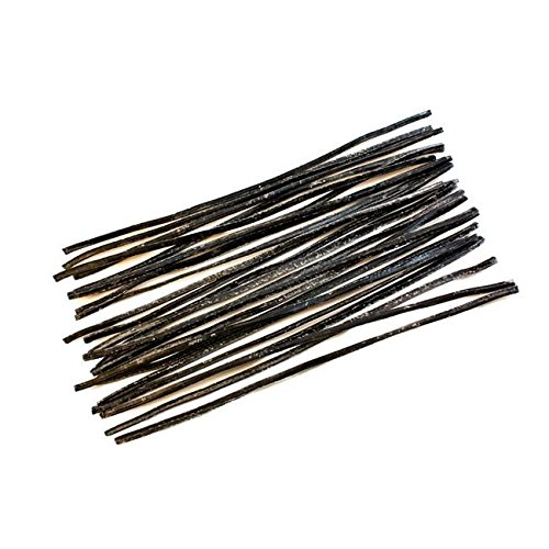 (BestPysanky Set of 24 Pieces of Black Beeswax Strips 6 Inches )