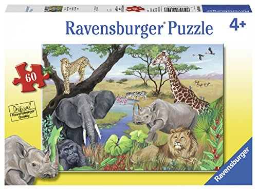 Ravensburger 09600 Safari Animals Jigsaw Puzzles ()