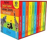 My First English - Español Learning Library (Mi Primea English - Español Learning Library) : Boxset of 10 Engl
