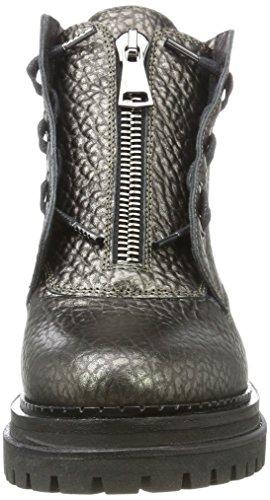 Stokton Damen Biker Boots Grau (Piombo)