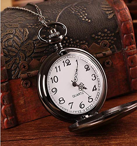Son Gifts for Christmas Birthday Wedding Graduation, to My Son Memorial Pocket Watch from Mom Dad (PW-Son-Journey) by LEVONTA (Image #2)