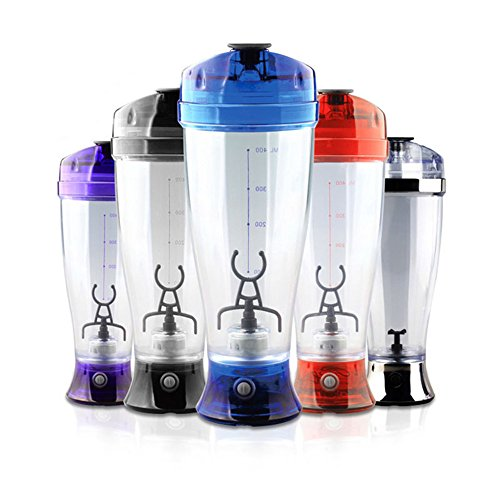 Katoot@ 1pcs Colorful Self Stirring Mug Portable Battery Chocolate Milk Mixer Cup Automatic Coffee Mug Mixer Protein Shaker Blender (Purple) by Katoot (Image #2)