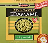 Seapoint Farms Dry Roasted Edamame Spicy Wasabi 8 Snack Packs