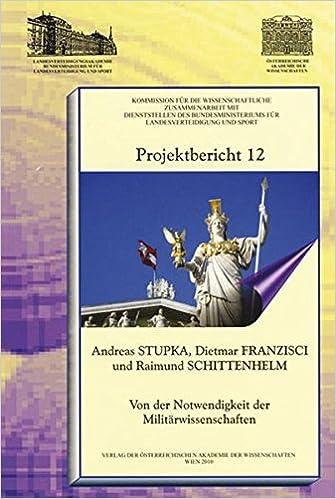 PDF] Download book: Projektbericht 12 Von Der Notwendigkeit Der ...