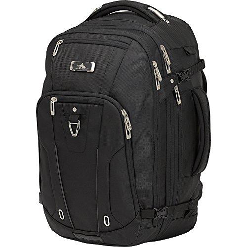 High Sierra Pro Series Travel Backpack - Convertible Duffel, Satchel & Laptop Bag - (Black)