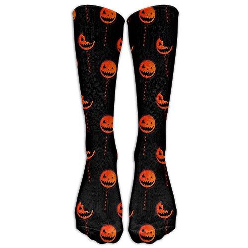 HenSLK Halloween Pumpkin Candy Crazy Novelty Calf Long