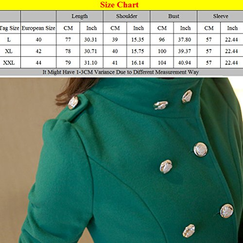 Formal Zhhlinyuan Long Cardigan Chic Jacket Outerwear Coats Ladies Business Office Azul et Hiver Elegant Slim élégant HFHwfU