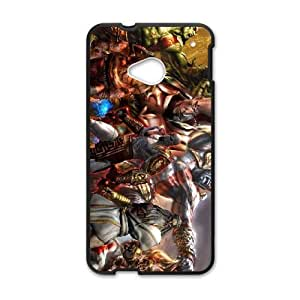 HTC One M7 Black phone case god of war LOL2830797