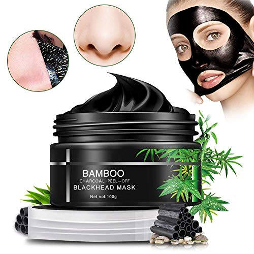 Blackhead Mask,Sky-shop Facial Mask Nose Mask Face Mask Blackhead Cream with Activated Charcoal Deep Pore Cleanse, Peel Off Deep Skin Clean Purifying Face Mask for Acne and Blackheads (100g)