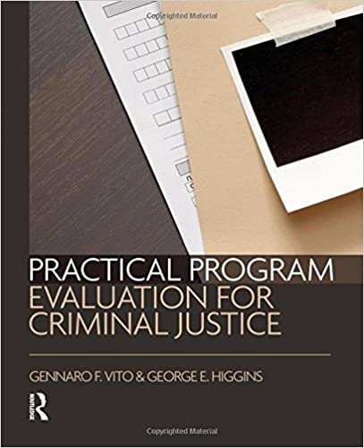 Amazon practical program evaluation for criminal justice practical program evaluation for criminal justice 1st edition fandeluxe Gallery