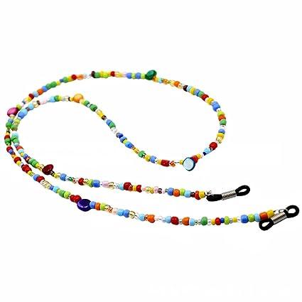 Yantu - Cadena para gafas, cadena para gafas, multicolor ...