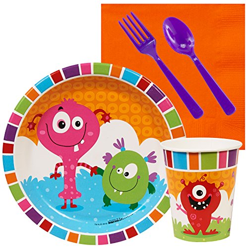 BirthdayExpress Aliens and Monsters Party Supplies - Snack Party Pack