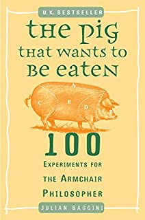 Think a compelling introduction to philosophy simon blackburn the pig that wants to be eaten 100 experiments for the armchair philosopher fandeluxe Image collections