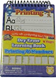 Dry Erase Learning Book Printing and Numbers