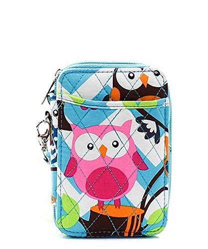 Owl Chevron Stripe Quilted...